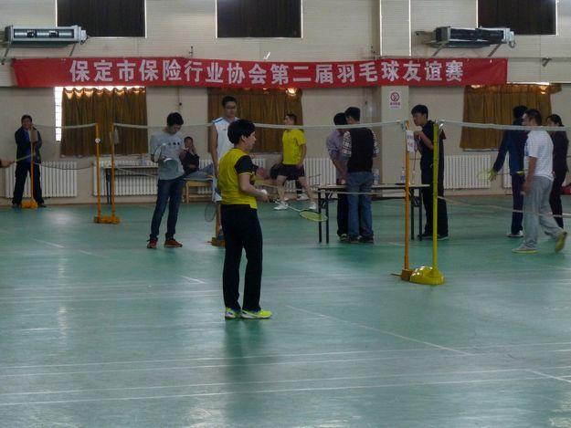 协会成功举办第二届羽毛球友谊赛